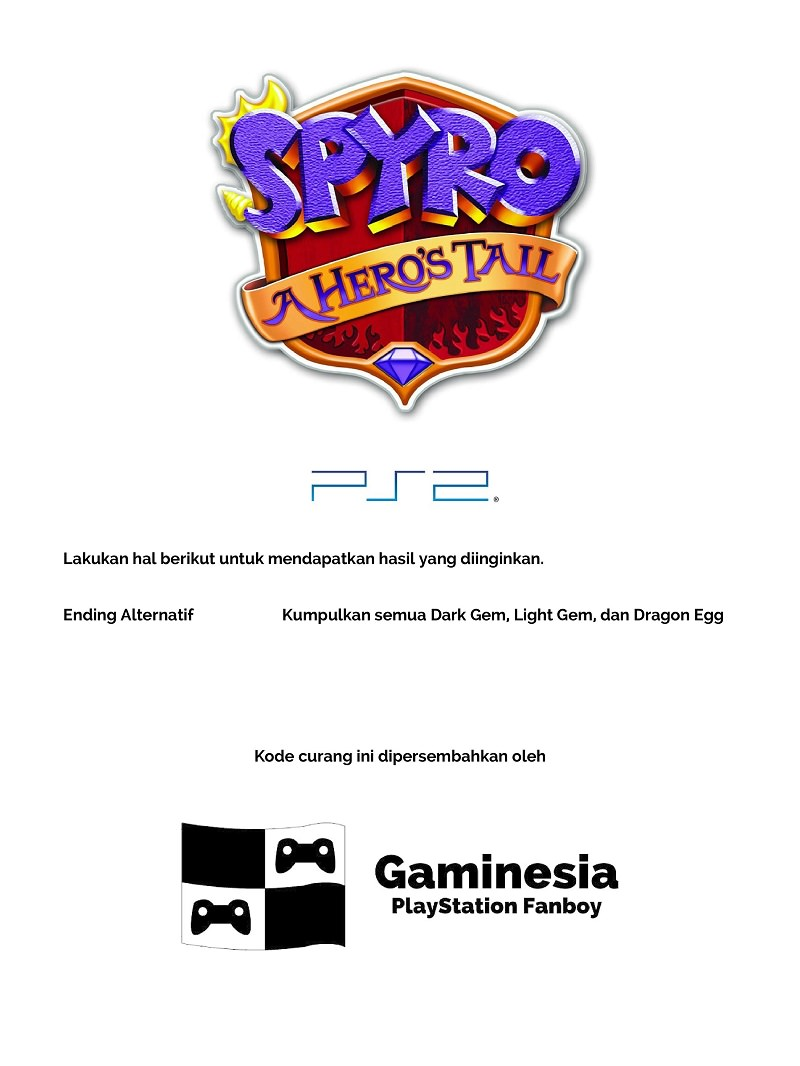 Kode Curang Spyro: A Hero's Tail